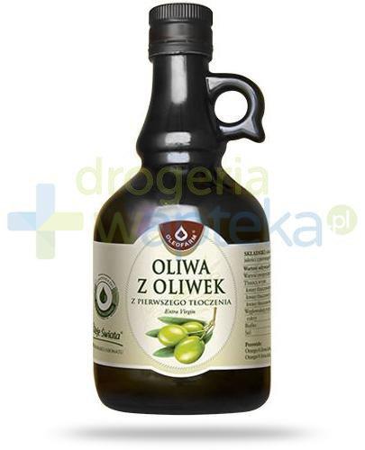 Oleofarm oliwa z oliwek z pierwszego tłoczenia Extra Virgin, płyn 500 ml