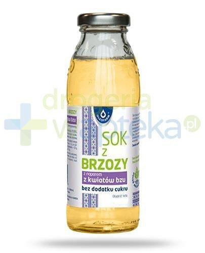 Oleofarm sok z brzozy z naparem z kwiatów bzu, płyn 300 ml