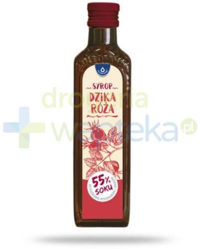 Oleofarm syrop dzika róża 55% soku 250 ml