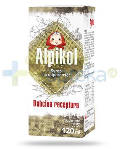 Alpikol Babcina receptura syrop na odporność 120 ml