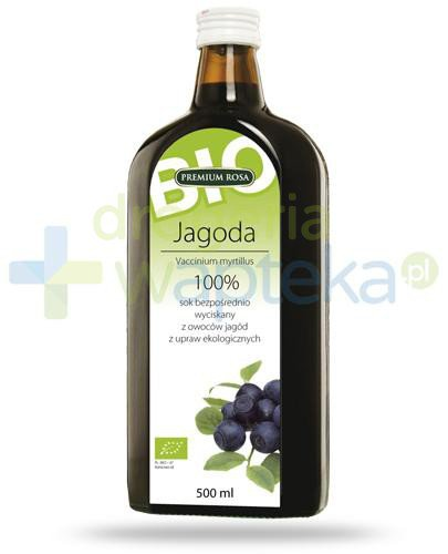 Premium Rosa Bio Jagoda sok 500 ml