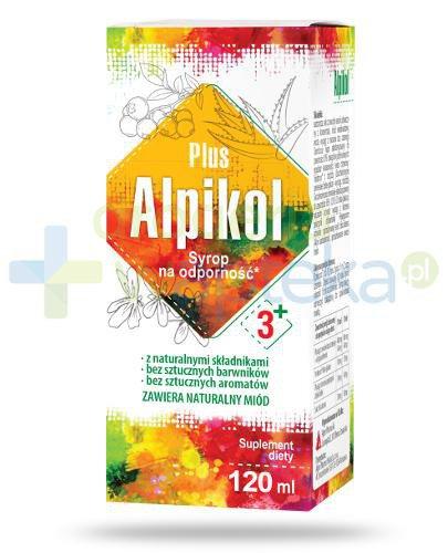 Alpikol Plus 3+ syrop na odporność 120 ml