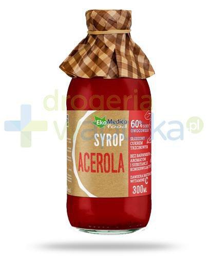 EkaMedica Acerola, syrop z owoców aceroli 300 ml
