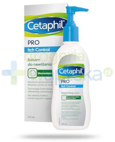 Cetaphil Pro Itch Control balsam do twarzy i ciała 295 ml
