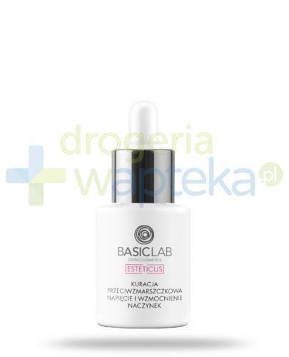 BasicLab Esteticus kuracja przeciwzmarszczkowa, napięcie i wzmocnienie naczynek na dzi...