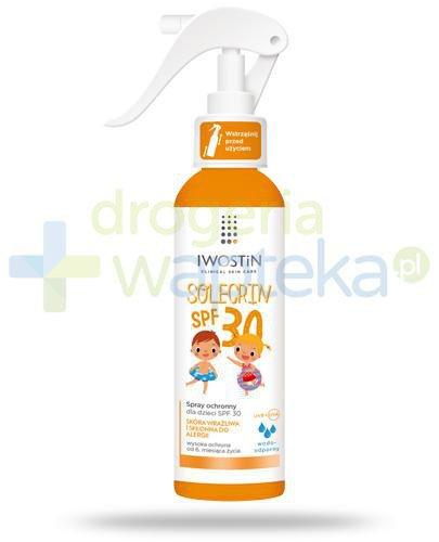 Iwostin Solecrin SPF30 spray ochronny dla dzieci 6m+ 150 ml
