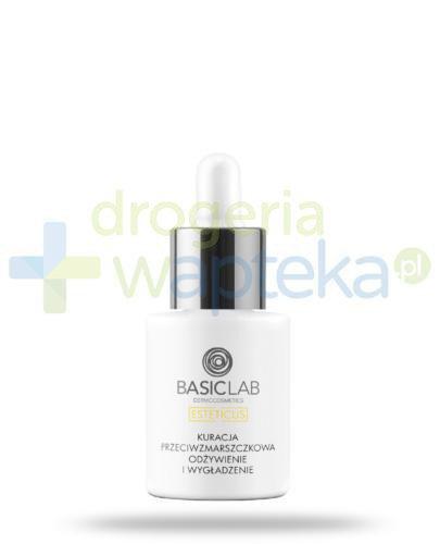 BasicLab Esteticus kuracja przeciwzmarszczkowa, odżywienie i wygładzzenie na dzień i n...