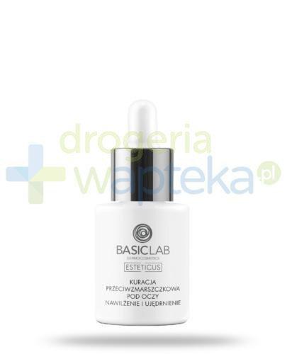 BasicLab Esteticus kuracja przeciwzmarszczkowa pod oczy, nawilżenie i ujędrnienie na dzi...
