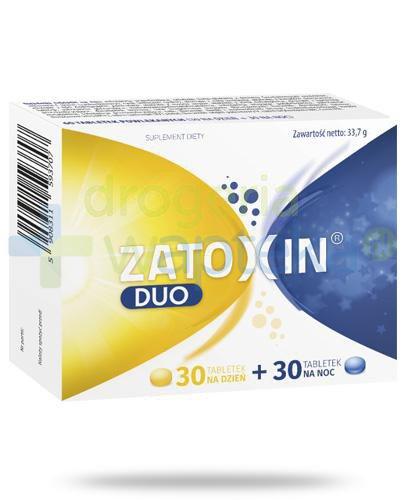 Zatoxin Duo 30 tabletek na dzień + 30 tabletek na noc
