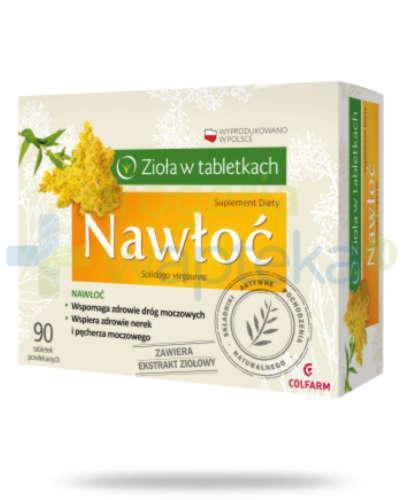 Colfarm Nawłoć 90 tabletek [Data ważności 30-06-2019]  whited-out