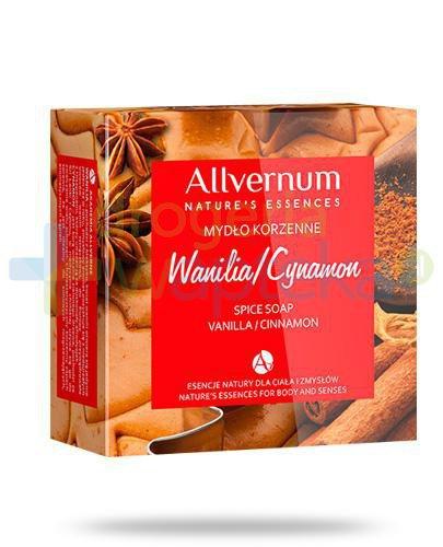 Allvernum Wanilia i cynaon mydło korzenne 100 g