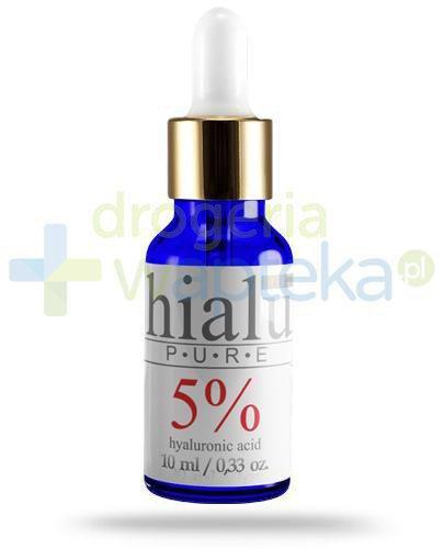 Natur Planet Hialu Pure 5% serum z kwasem hialuronowym, żel 10 ml