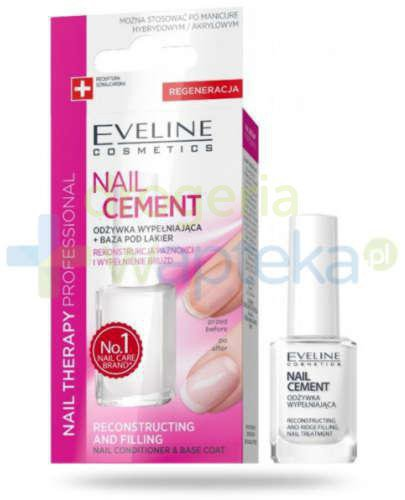 Eveline Nail Therapy Professional odżywka do paznokci nail cement 12 ml