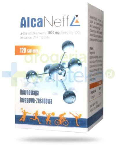 AlcaNeff 1000 mg 120 tabletek  whited-out