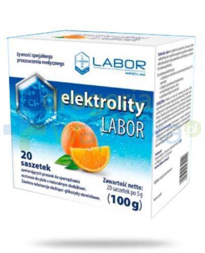 Elektrolity Labor 20 saszetek  whited-out