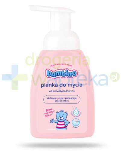 Bambino pianka do mycia 250 ml