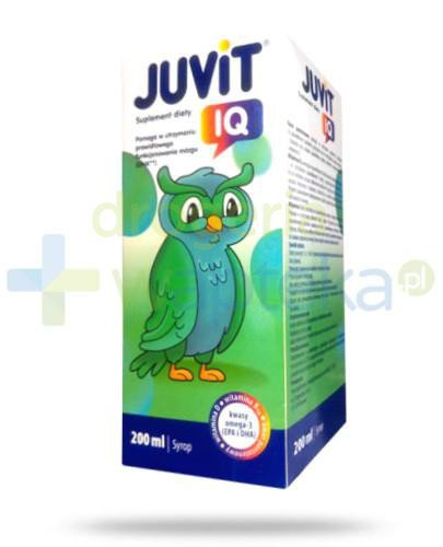 Juvit IQ syrop 200 ml  whited-out