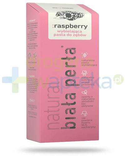 Biała Perła Natural Raspberry pasta do zębów 75ml  whited-out
