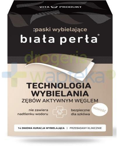 Biała Perła technologia wybielania zębów aktywnym węglem 1 zestaw  whited-out