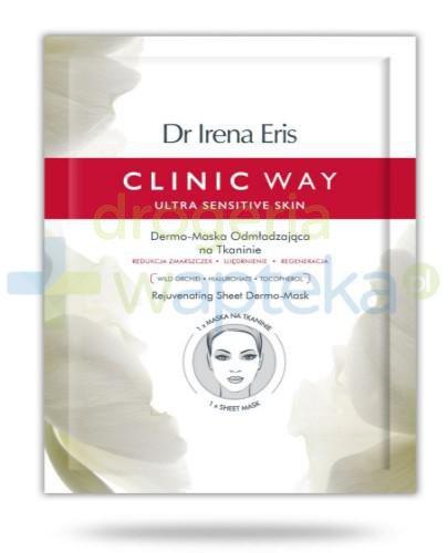 Dr Irena Eris Clinic Way Dermo-maska odmładzająca na tkaninie 1 sztuka