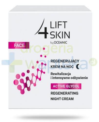 Lift 4 Skin Active Glycol regenerujący krem na noc 50 ml