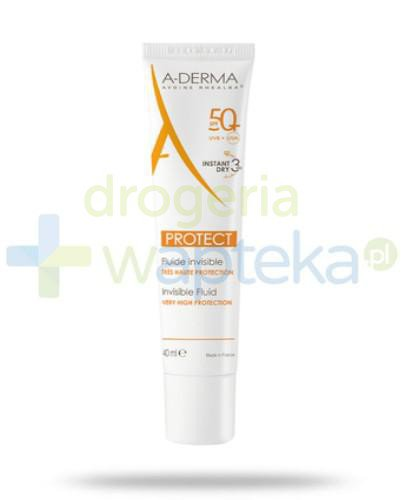 A-derma protect bezbarwny fluid SPF 50+ 40ml