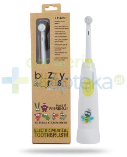 Jack & Jill grająca elektryczna szczotka do zębów buzzy brush 1 sztuka