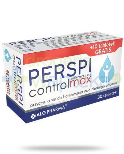 Perspicontrol Max 30 tabletek + 10 gratis