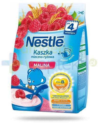 Kaszka mleczno-ryżowa Nestlé malina po 4 miesiącu 230 g