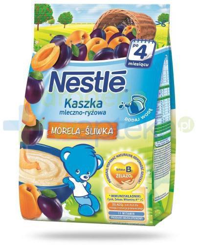 Kaszka mleczno-ryżowa Nestlé morela-śliwka po 4 miesiącu 230 g