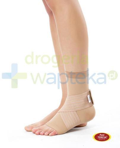 Pani Teresa opaska elastyczna stawu skokowego skarpetka bezszwowa rozmiar S 1 sztuka