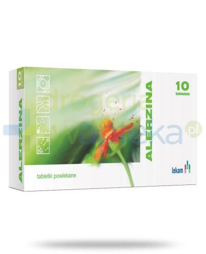Alerzina 10 mg 10 tabletek  whited-out