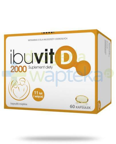 Ibuvit D 2000 60 kapsułek