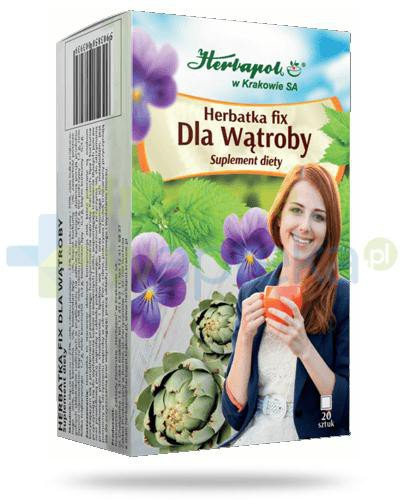 Herbapol Herbatka fix Dla Wątroby 20 saszetek