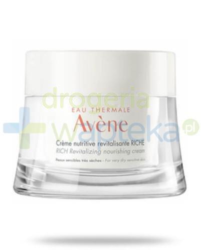 Avene odżywczy krem rewitalizujący bogata konsystencja do skóry wrażliwej i bardzo suc...