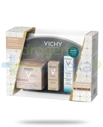 Vichy Neovadiol Magistral + mini produkty + kosmetyczka [ZESTAW]  whited-out