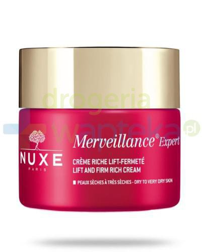 Nuxe Merveillance Expert krem liftingujący i ujędrniający do skóry suchej i bardzo suc...
