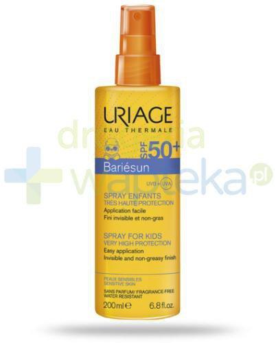 Uriage Bariesun spray dla dzieci SPF 50+ 200 ml + plażowy plecak termiczny [GRATIS]