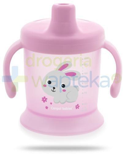 Canpol Babies Bunny & company kubek niekapek dla dzieci 9m+ 200 ml [31/300]