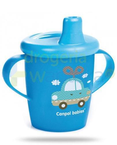 Canpol Babies Haberman dla canpol babies kubek niekapek dla dzieci 9m+ niebieski auto 250 ...