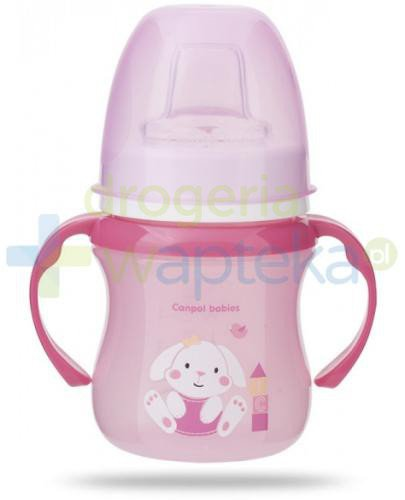 Canpol Babies EasyStart Sweet Fun kubek treningowy różowy 120 ml [35/207]