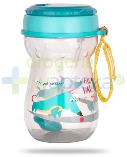 Canpol Babies bidon ze składaną rurką silikonową z odważnikiem 350 ml [56/518]