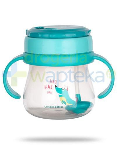 Canpol Babies kubek ze składaną rurką silikonową z odważnikiem 6m+ 250 ml [56/517]
