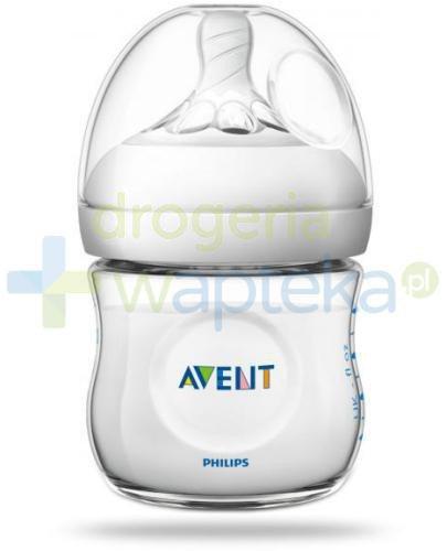 Avent Philips Natural butelka dla niemowląt 125 ml ze smoczkiem dla noworodków 0m+ [SC...