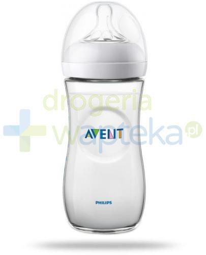 Avent Philips Natural butelka dla niemowląt 330 ml ze smoczkiem o szybkim wypływie 6m+ [...