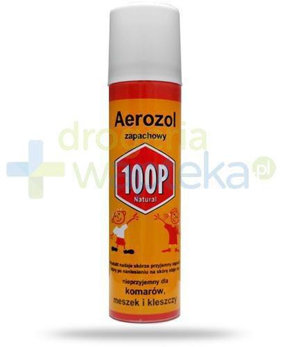 100P Aerozol ochronny przeciw komarom i kleszczom 75 ml