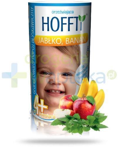 Hoffti granulowany napój błyskawiczny 4m+ jabłko banan 180 g