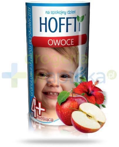 Hoffti granulowany napój błyskawiczny 4m+ owoce 180 g