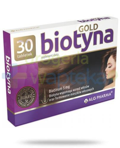 Alg Pharma Biotyna Gold 30 tabletek