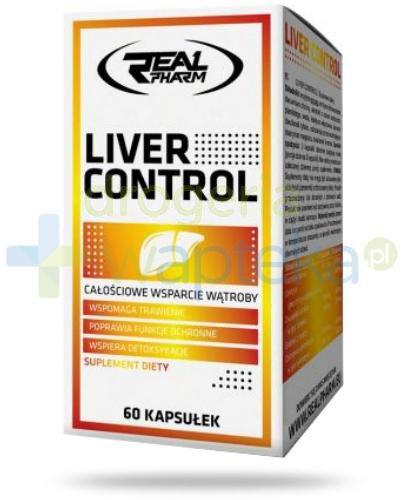 Real Pharm Liver Control 60 kapsułek